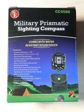 SE CC4580 Military Prismatic Sighting Compass, Nylon pouch
