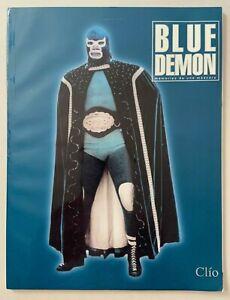 Blue Demon Memorias De Una Mascara Book / Magazine Lucha Libre Wrestling