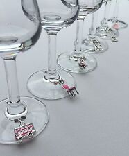 Wine Glass Markers - Wine Charms