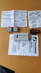 Weichenantriebe MTB + Hoffmann + Magnetartikeldecoder Viessmannn