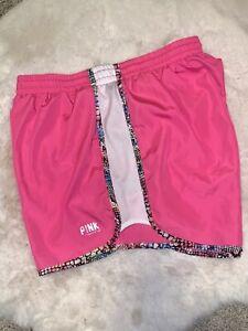 EUC 💖 VTG 2012 Victoria Secret PINK Yoga Workout Gym LOUNGE Shorts Lined Small