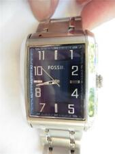 FOSSIL FS 4637 111105 Wrist Watch All Stainless Steel EUC