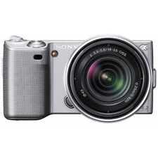 Sony Alpha NEX-5 14.2MP Digital Camera - Silver (Kit w/ 18-55mm Lens)