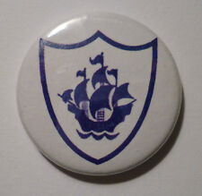 """BUY 2 & GET 1 FREE - 1"""" Button Blue Peter Badge - High Quality - Novelty / Retro"""
