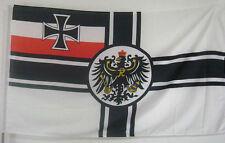GERMAN SECOND EMPIRE FLAG BANNER 90X150CM 3x5' -33331