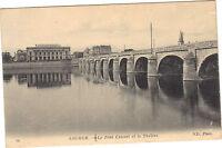 49 - CPA - Saumur - Le Pont Cessart und das Theater (1053)