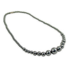 Haematite Round Bead Necklace