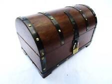 EJMS Boîte à trésors Coffre au trésor coffre Coffre en bois Boîte en bois boîte