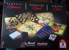 CLASSIC GAMES   SCMIDT  70 GAMES TO PLAY NEW & SEALED