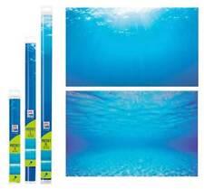 Poster 2 doppio Sfondo per Acquario Marino Dolce Decorazione Decoro Vetro Juwel