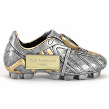 A1305 RESIN FOOTBALL BOOT TROPHY SIZE 12.5CM FREE ENGRAVING - Man of Match