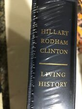 Hillary Clinton - Living History - Signed Deluxe Limited Edition Sealed Mint