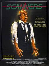 24X36Inch Art SCANNERS Movie Poster 1981 David Cronenberg P53