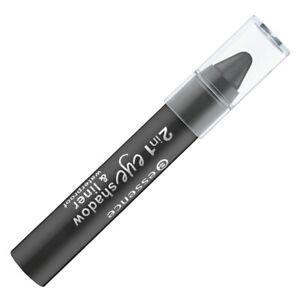 2 in1 Eyeshadow & Liner Waterproof essence Black to the routes (756606)