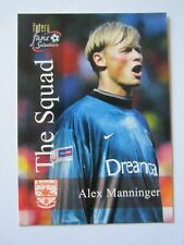 Futera Leeds Fans Selection 1997//1998 fansmotion 3D Martyn//Bowyer//Sharpe