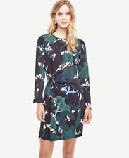 NWT Ann Taylor Cypress Botanical Shift Dress Size 0/0P