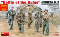 Miniart 35084 - 1/35 Scale Battle of the Buldge Ardennes 1944 WWII Model Figures