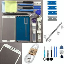 Samsung Galaxy Note 2 Front Glass Screen Replacement Repair Kit White