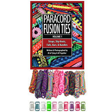 KIDS EDITION Paracord Planet Combo Crafting Kit-Buckles and How-To-Book- Tie Dye