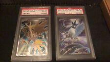 20th anniversary Pokemon Full Art/ FA Articuno and Zapdos PSA 10 Japanese