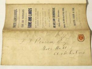 1899 HALTON GRESSINGHAM NETHER KELLET CATTERALL Original Auction Catalogue