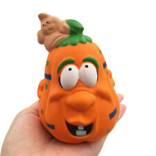 Halloween Pumpkin Relax Stress Reliever Scented Super Slow Rising Relax  Toy
