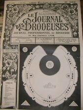 Le journal des brodeuses N° 382 1933 Broderie Couture Bavoir Drap Robe enfant