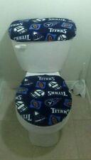 Tennessee Titans Fleece Toilet Set Cover Set (2PC)