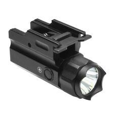 New NcStar AQPTF3 3W 150 Lumen Tactical LED Flashlight QR w/ Strobe - Black