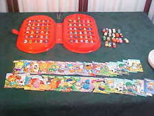 80 Mighty Beanz w/Carrying Case & Trading Cards