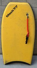 "VINTAGE MOREY MACH 7-7 WITH STRAP BODYBOARD BOOGIEBOARD 42"" COLLECTIBLE"