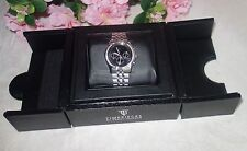 Timepieces by Randy Jackson: Silver Stainless Steel Watch Swiss Movement NEW