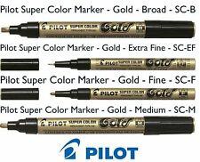 ROTULADOR PILOT SUPER COLOR PERMANENTE METALICO/ORO PLATA/DORADO GOLD/SILVER