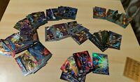 Incomplete 1995 Fleer Ultra X-Men Chromium Base Chase Sets Many Gold Signatures