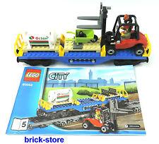 LEGO CITY / Tren (60052) CARRETILLA ELEVADORA Vagón / Boxcar/transportwaggon
