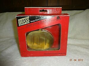 New Gatco Solid Forged Brass wall mount Soap Dish with Protective Finish