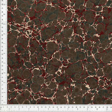 Hand Marbled Paper for Bookbinding and Restoration, Series 48x67cm 19x26in