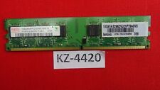 Hynix 1gb ddr2 di RAM pc2-5300u-555-12 2rx8 667mhz HYMP 512u64cp8-y5