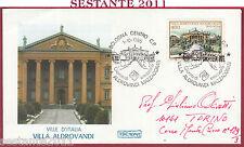 ITALIA FDC ROMA VILLE D'ITALIA VILLA ALDROVANDI MAZZACURATI 1985 BOLOGNA Y896