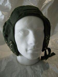 Genuine RAF Pilots Helmet Liner Type G Inner Mesh Mk 1 Green Military Surplus
