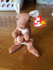 RARE RETIRED Pouch Beanie Baby, Mint Condition, Authentic, DOB 11/6/1996