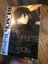 Darker Than Black: The Complete First TV Season DVD 2010 4-Disc Set Anime 1st