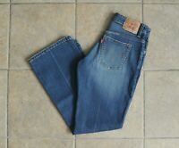 Women's Levi's 515 Boot Cut Jeans Size 6M Medium Wash Factory Distressed Faded