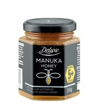 DELUXE MANUKA HONEY ACTIVE 5+  100%  PURE AND AUTHENTIC FROM NEW ZEALAND