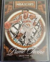 Trae Young 2020-21 20-21 NBA Hoops Prime Twine Atlanta Hawks #19