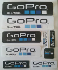 9Pcs Icon Logo Sticker Decal for GoPro Hero 6 Hero 5 3+ 3 2 Sports Camera Gopro