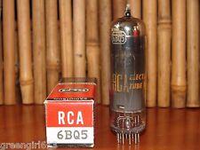 RCA EL84 6BQ5 Vacuum Tube V Strong Results 12,300  µmhos 51 mA