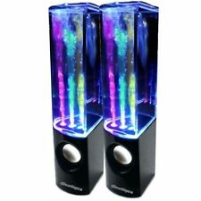 iBoutique ColourJets Dancing Fountain Speakers - Black (IB-COL-SPLASH-BLK)