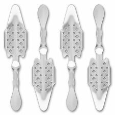 4x Absinth Löffel Losanges 41 - Absinthe Spoon - Cuillère à Absinthe originale