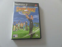 Spiel Swing Away Golf - PLAYSTATION 2 - PS2 - Gut Used Komplette
